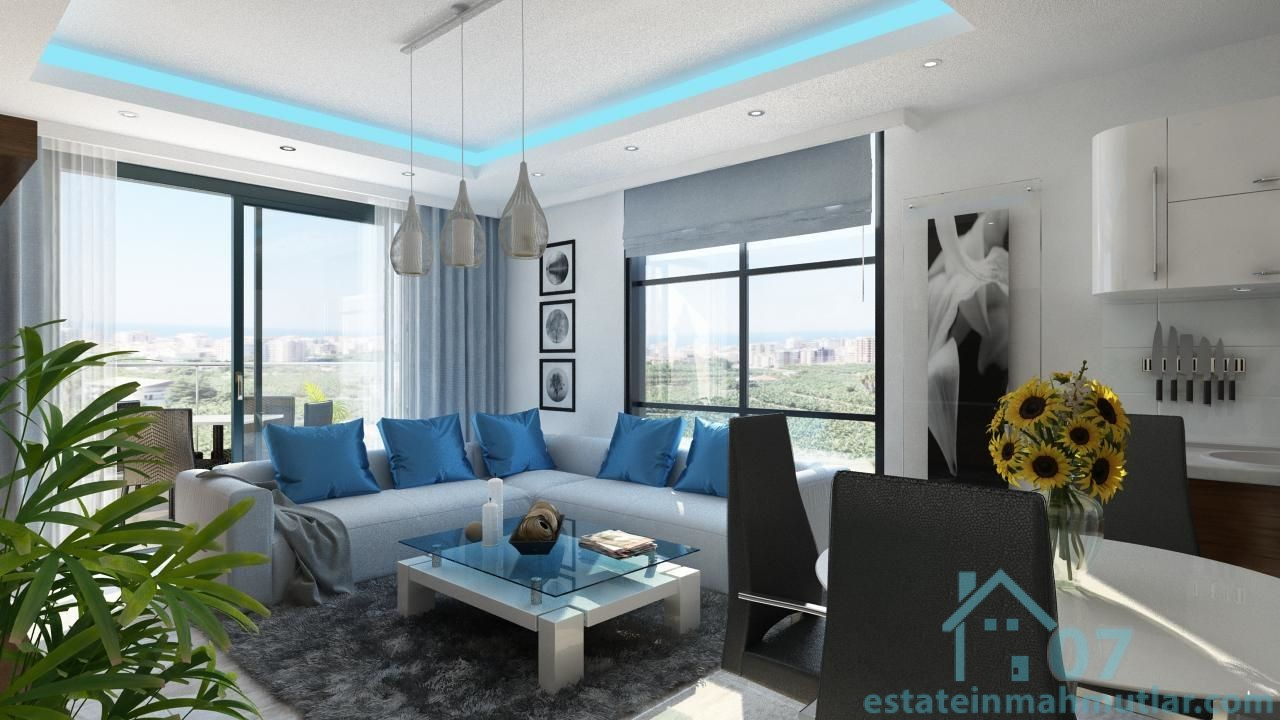 Three Bedroom Apartments In A Luxury Residential Complex Near The Beach