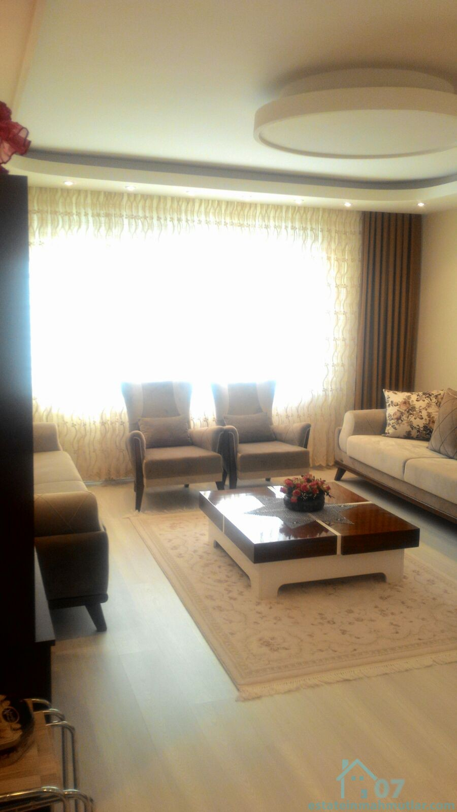 2 Years Old 2 Beautiful Apartments (3+1 & 1+1) on the same Title Deed on Sale