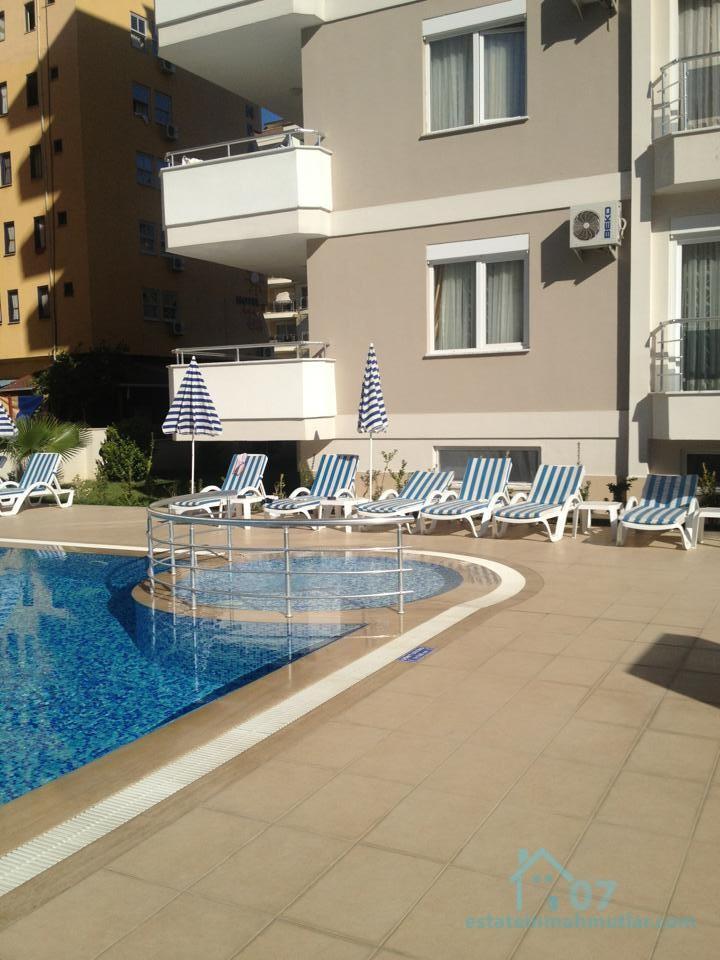 Furnished beautiful one bedroom apartment in the Mahmutlar district of Alanya, Antalya
