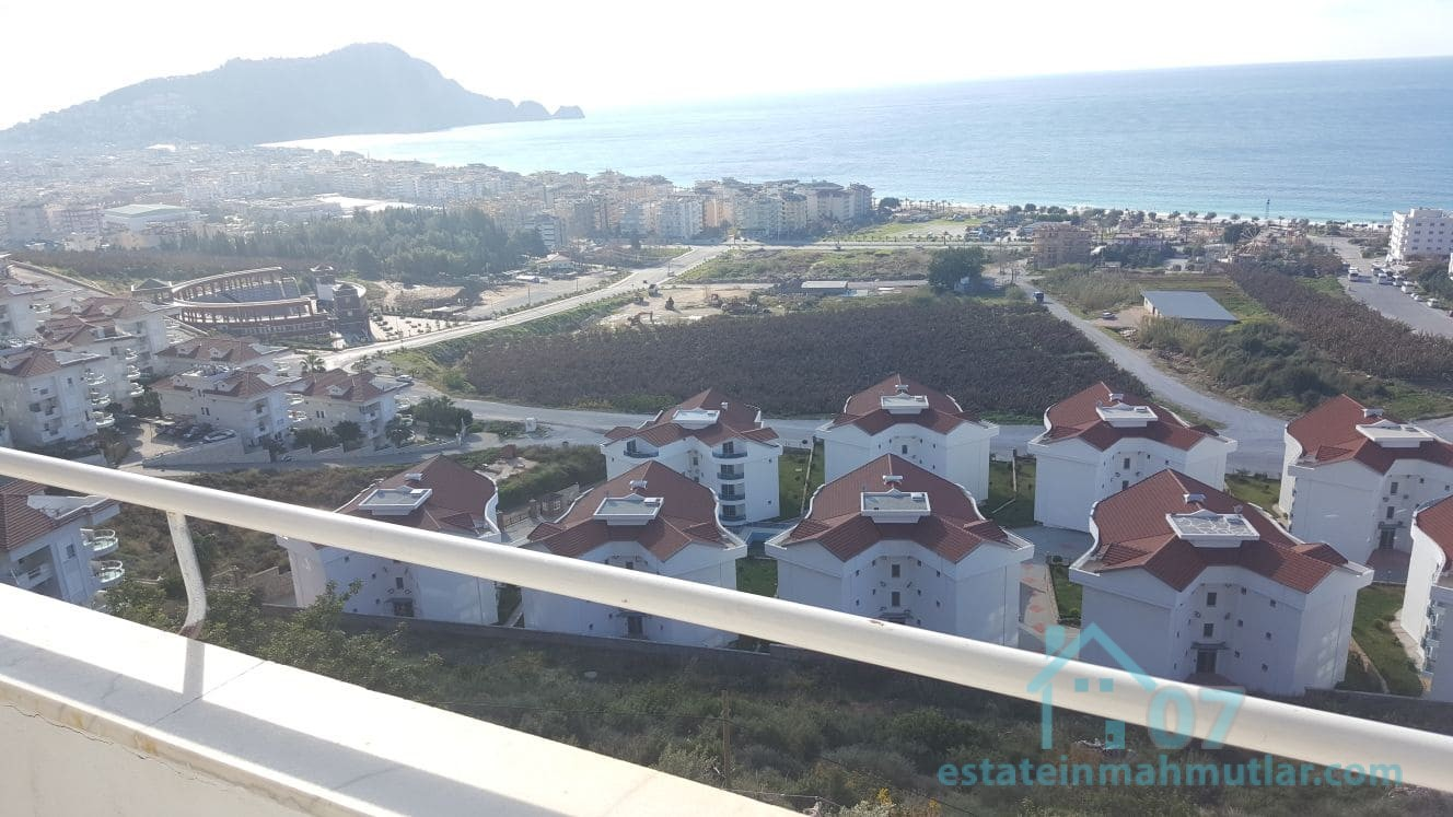 Furnished Two Apartments with a fantastic view for Sale together in Alanya, Antalya